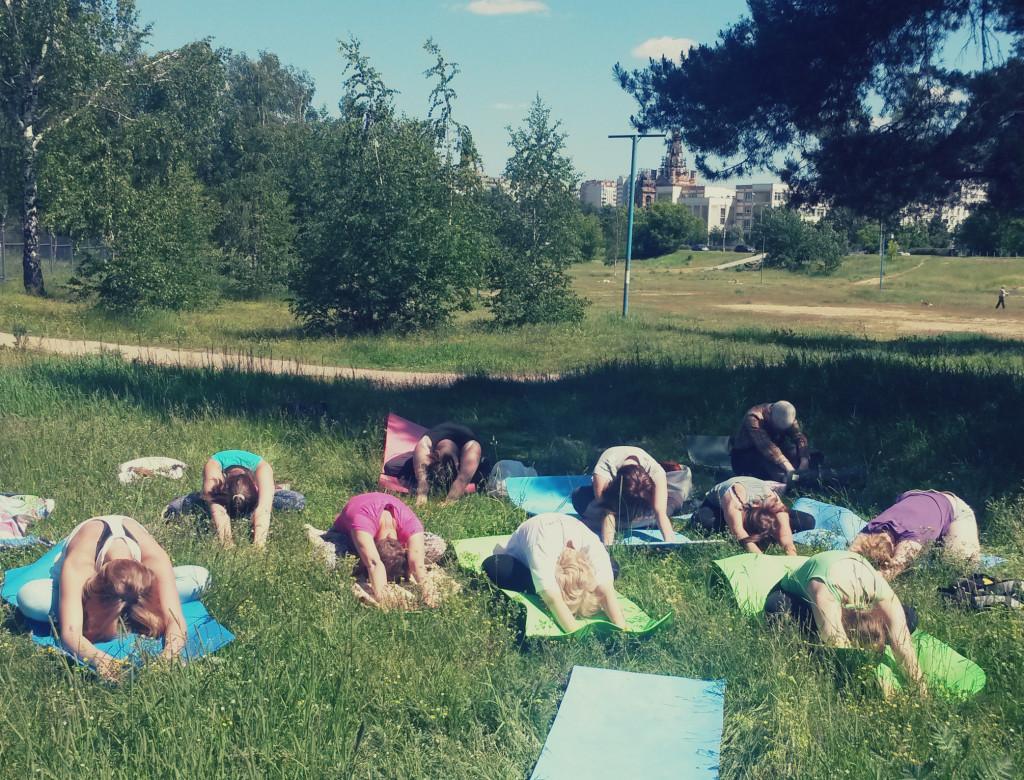 Бесплатная йога в Жулебино